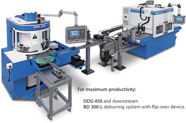 Peter Wolters BD 300-L Deburring Systems